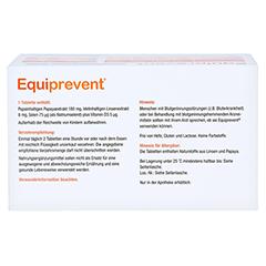EQUIPREVENT Tabletten 150 Stück - Unterseite