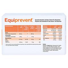 EQUIPREVENT Tabletten 150 Stück - Rückseite