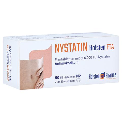 Nystatin Holsten 50 Stück N2