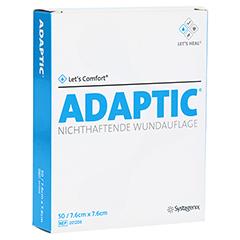 ADAPTIC 7,6x7,6 cm feuchte Wundauflage 2012DE 50 Stück