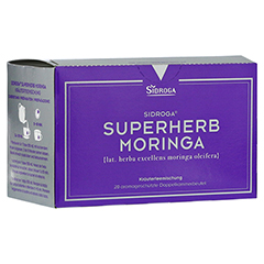 SIDROGA Superherb Moringa Filterbeutel 20x2.0 Gramm