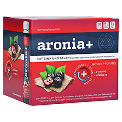 ARONIA+ IMMUN Monatspackung Trinkampullen 30x25 Milliliter