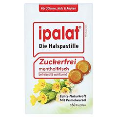 Ipalat Halspastillen Zuckerfrei 160 Stück - Vorderseite