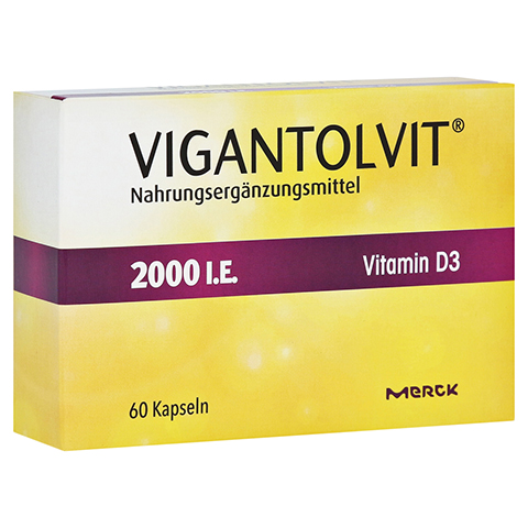 Vigantolvit 2.000 I.E. Vitamin D3 60 Stück