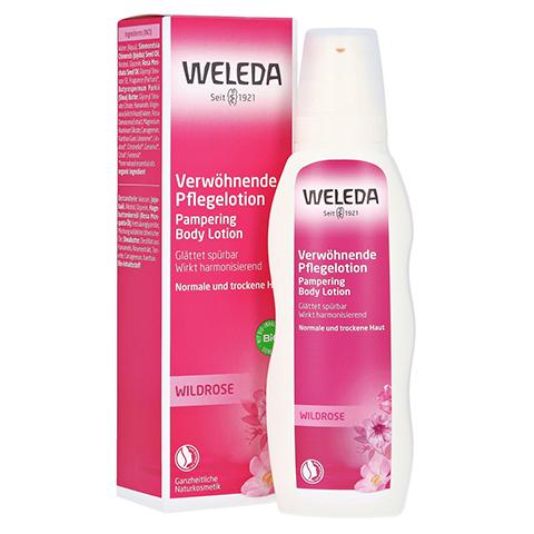 WELEDA Wildrose verwöhnende Pflegelotion 200 Milliliter