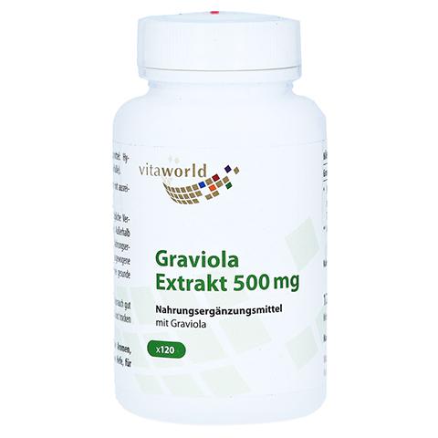 GRAVIOLA EXTRAKT 500 mg Kapseln 120 Stück
