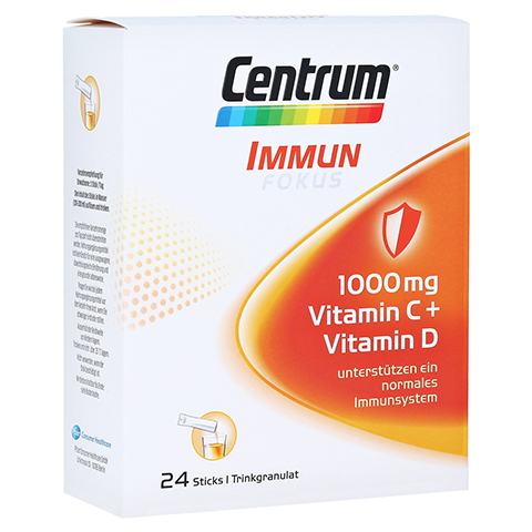 CENTRUM Fokus Immun 1000 mg Vitamin C+D Sticks 24 Stück