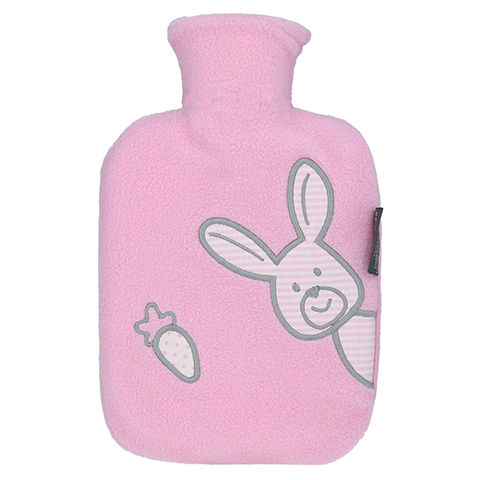 FASHY Kinderwärmflasche Flausch rosa 1 Stück