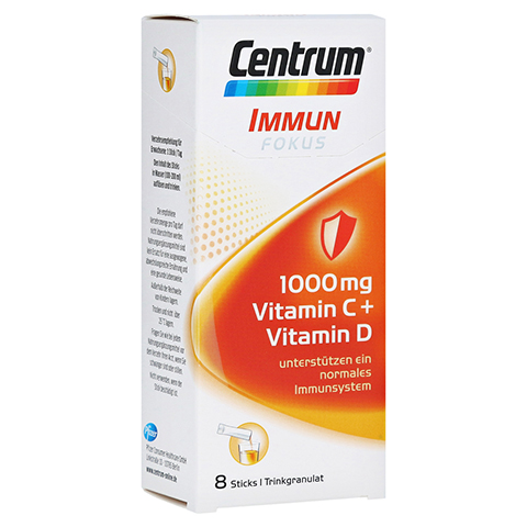 CENTRUM Fokus Immun 1000 mg Vitamin C+D Sticks 8 Stück