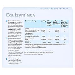 EQUIZYM MCA Tabletten 300 Stück - Rückseite