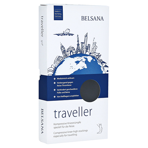 BELSANA traveller AD L schwarz Fuß 3 43-46 2 Stück