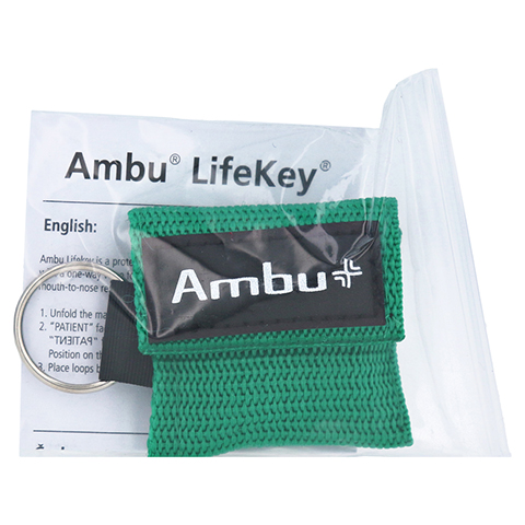 AMBU LifeKey Softcase grün 1 Stück