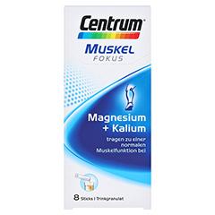 CENTRUM Fokus Muskel Magnesium+Kalium Sticks 8 Stück - Vorderseite