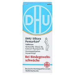 DHU Silicea Pentarkan für das Bindegewebe Tabl. 80 Stück N1 - Vorderseite
