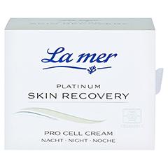 LA MER PLATINUM Skin Recovery Pro Cell Cream Nacht 50 Milliliter - Vorderseite