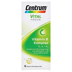 CENTRUM Fokus Vital Vitamin B Komplex Sticks 8 Stück - Vorderseite