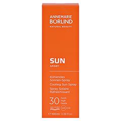 BÖRLIND Kühlendes Sonnen-Spray LSF 30 100 Milliliter - Vorderseite