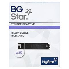 BGSTAR Teststreifen 50 Stück - Vorderseite