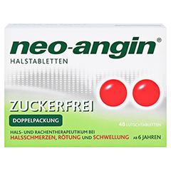 Neo-Angin Halstabletten zuckerfrei 48 Stück N3 - Vorderseite