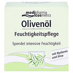 Olivenöl Feuchtigkeitspflege Creme 50 Milliliter - Vorderseite