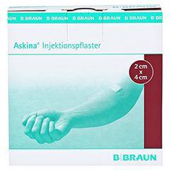 ASKINA Injektionspflaster 2x4 cm 250 Stück - Vorderseite