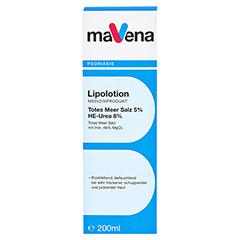 MAVENA Lipolotion 200 Milliliter - Vorderseite