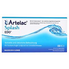 Artelac Splash EDO Augentropfen 10x0.5 Milliliter - Vorderseite