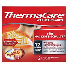 THERMACARE Nacken/Schulter Auflagen z.Schmerzlind. 2 Stück - Vorderseite