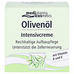 medipharma Olivenöl Intensivcreme 50 Milliliter - Vorderseite