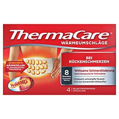 Thermacare Wärmeumschläge bei Rückenschmerzen 4 Stück - Vorderseite