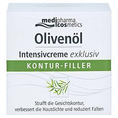medipharma Olivenöl Intensivcreme exklusiv Kontur-Filler 50 Milliliter - Vorderseite