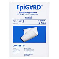 EPIGARD Verband 8x5 cm 10 Stück - Vorderseite