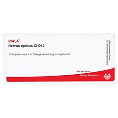 NERVUS OPTICUS GL D 12 Ampullen 10x1 Milliliter N1 - Vorderseite