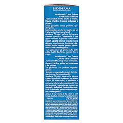 BIODERMA Atoderm PO zinc Creme 100 Milliliter - Linke Seite