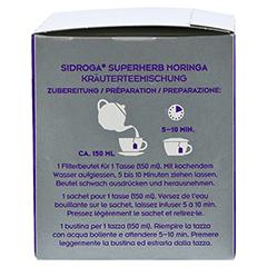 SIDROGA Superherb Moringa Filterbeutel 20x2.0 Gramm - Linke Seite