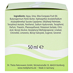 medipharma Olivenöl Feuchtigkeitspflege 50 Milliliter - Linke Seite