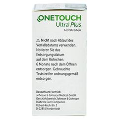 OneTouch Ultra Plus Teststreifen 1x50 Stück - Rechte Seite