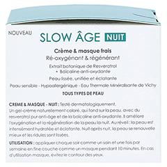VICHY SLOW Age Nacht Creme + gratis Vichy Slow Age Nacht Creme 15 ml 50 Milliliter - Rechte Seite