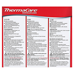 THERMACARE flexible Anwendung 3 Stück - Rückseite