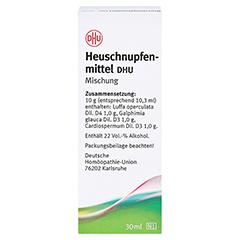 HEUSCHNUPFENMITTEL DHU Liquidum 30 Milliliter N1 - Rückseite