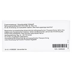 NERVUS OPTICUS GL D 12 Ampullen 10x1 Milliliter N1 - Rückseite