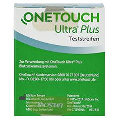 OneTouch Ultra Plus Teststreifen 1x50 Stück - Rückseite