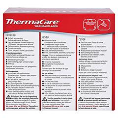 THERMACARE Nacken/Schulter Auflagen z.Schmerzlind. 9 Stück - Rückseite