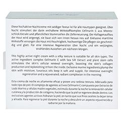 LA MER PLATINUM Skin Recovery Pro Cell Cream Nacht 50 Milliliter - Rückseite