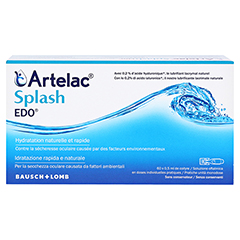 Artelac Splash EDO 60x0.5 Milliliter - Rückseite