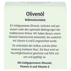 medipharma Olivenöl Intensivcreme 50 Milliliter - Rückseite