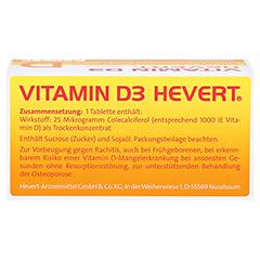 Vitamin D3 Hevert 100 Stück N3 - Oberseite