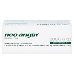 Neo-Angin Halstabletten zuckerfrei 48 Stück N3 - Oberseite