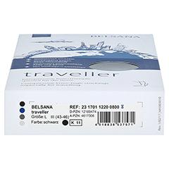 BELSANA traveller AD L schwarz Fuß 3 43-46 2 Stück - Unterseite