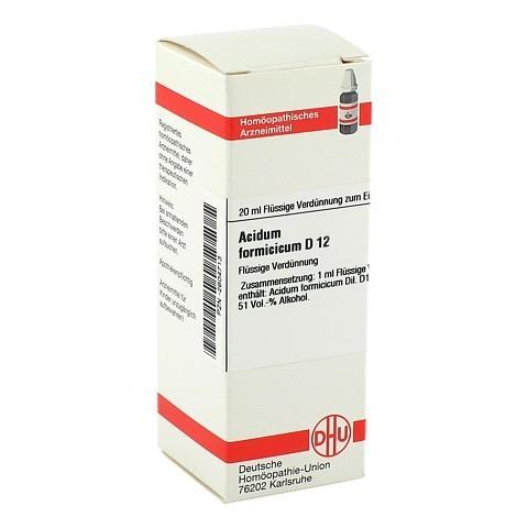 ACIDUM FORMICICUM D 12 Dilution 20 Milliliter N1